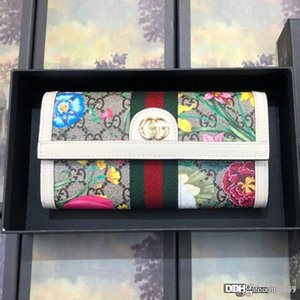 Nueva ofidios G billetera continental de diseño de lujo bolsa de la cartera 523153 tamaño de la moda femenina femenina 19,5 * 11 * 3