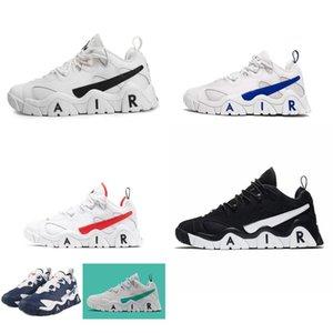 Retro de Nova barragem de ar sapatos baixos de basquete para venda Branco Preto Vermelho Amarelo Azul James Lebron 17 ar sneakers mais uptempo tênis com caixa