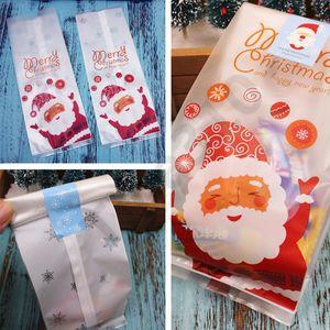 Noël non tissé Candy Bag Père Noël Sac présente Détenteurs Sac de fête de Noël Cadeaux Bonbons Arbre Sacs Sac Biscuit 30bag T1I2250