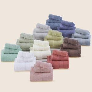 Günstige heißen Verkauf 3-Stück Baumwolltuch Set Handtuch Gesicht Badezimmer Bad für Erwachsene Absorbent Trocknen Home Textile