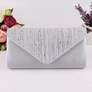 Women Evening Shoulder Bag Bridal Clutch Party Prom Wedding Envelope Handbag New Drop Shipping Good Quality