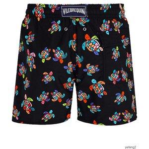 короткие плавать мужские лето Vilebrequin бермуды пляж одежды Черепахи Новейшие летние вскользь шорты Мужчины Мода Стиль мужские шорты
