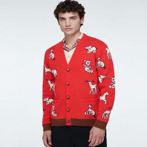 HAWALL سترة من الرجال والنساء وبلوزات البلوز قمصان كم طويل هوديس الخريف شتاء ربيع إلكتروني التطريز الملابس الغزلان كنزة M-3XL
