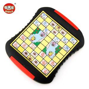 Дети магнитные Английский шахматная доска игра Выдвижные Стиль Магнитные шахматы Fun магнитные Людо шахматы Дети Развивающие игрушки