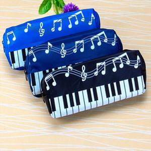 2019 Korean Version Musical Piano Keyboard Storage Bag Stationery Cosmetic Bag Music Pen Bags Box Storage Bag School supplies