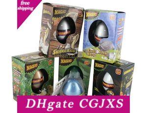 Big Easter Egg Dinosaur Eggs Dinosaur aux oeufs de Pâques de tortue de serpent de poulet Pingouin Crocodile Lézard eau Expansion de Pâques Egg 7 Designs