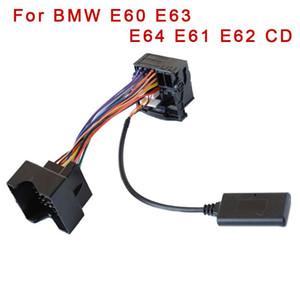 Bluetooth Audio AUX Cable Big Plug Adapter 12-pin For E60 E63 E64 E61 E62 CD car