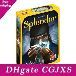 Splendeur Board Game English Version caoutchouc Playmat Parent -Enfant Interaction adulte Financement Cartes de Jeu en Famille