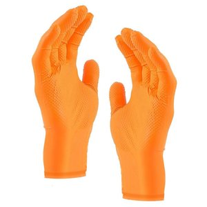 1Pair Gardening Puncture Resistant Nitrile Gloves Nitrile Coated Work Disposable Protective Gardening Safety Living