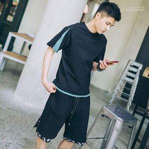 Tshirts Mens конструктора Tshirts втулка краткость лето Щитовая вскользь верхние части способа подросткового High Street Hiphop Mens