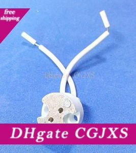 5pc Прожектор Базового держатель Mr16 G5 0,3 Лампа G6 +0,35 Керамик лампа цоколь G5 0,3 Разъем Держатель Base MR8