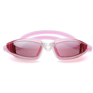Electroplating Waterproof Anti-fog and Anti-uv Adjustable Elastic Goggles Unisex Swimming Diving Glass