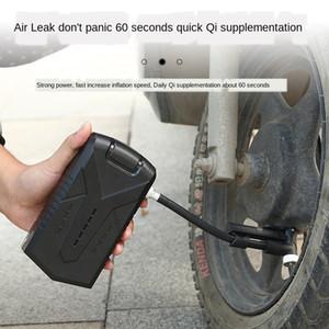 전기 자전거 자전거 다기능 차량 탑재 공기 펌프 가정용 휴대용 산악 자전거 공기 펌프 타기