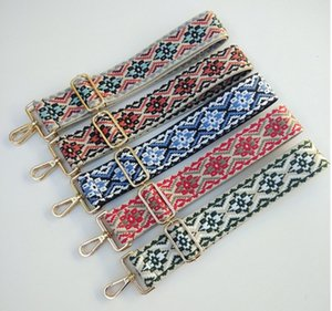 2020 sacos de nylon colorido cinto fivela acessórios para mulheres PTgirl Moda ajustável Shoulder Handbag Strap acessórios decorativos Bags