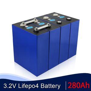 células 48V280AH 24V560Ah 12V 1120AH célula solar prismática 16pcs 3.2V 280Ah LiFePO4 batería de litio fosfato de hierro de la UE de Estados Unidos TAX FREE