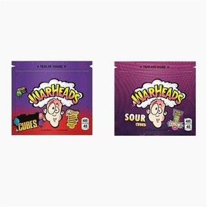 Gummies боеголовки сумка Airheads Xtremes Starburst Skittles Cannaburst Errlli Радуга Пустой Майларовые Сумки Упаковка 400мг Zipper Пакет