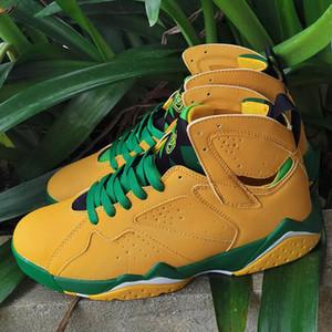 2020 Yeni Jumpman 7 Oregon 7 7s Erkek basketbol ayakkabıları Patta Hare Triko Bordo Ray Allen Nighthawk eğitmenleri kadın spor ayakkabı boyutu Ördekler 13