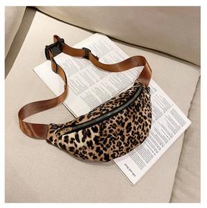 Guepardo leopardo de 3 colores en el pecho Bolsa de baile del disco Crossbody bolso de la cintura de moda bolsa
