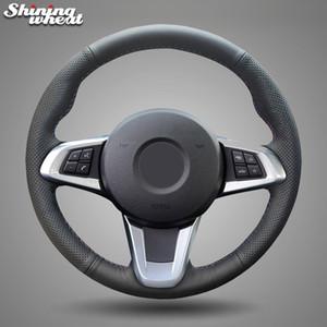 Copertura di rotella genuino nero Volante in pelle dell'automobile per BMW Z4 2009- 2014 E83