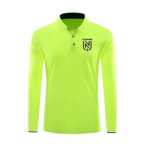 20 21 Ligue FC Nantes Calcio Polo camicia di calcio maglie maglia da calcio FC Nantes Polo Pullover di calcio in corso maglie