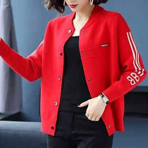 pfONK knitwear 2019 outono e coreano New coat malhas estilo do inverno casaco cardigan camisola das mulheres short longo exterior Y4jdb manga pequena xale