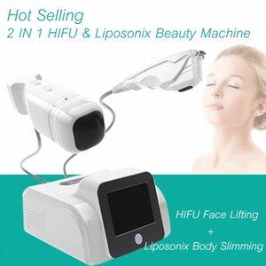 Beweglicher Qualität Hifu Hautverjüngung Anti-Falten-Maschinen-Gesichts-Lifting Behandlung Hifu Liposonix 2 in 1 Skin Care Schneller Slimmin 0Z3g #