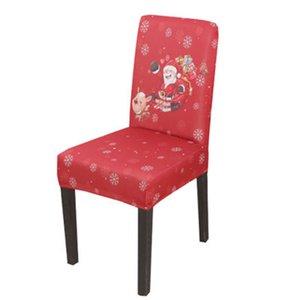 Copertura della sedia di Natale Spandex elastico di stirata Albergo Wedding Banquet Arm coprisedie pasti caso della copertura camera Sedile