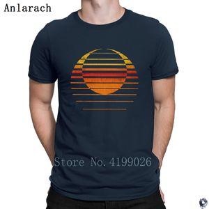 Sunset Double exposure tshirts designer plus size Summer Style tshirt for men Classical Unisex Famous Anlarach Pop Top Tee