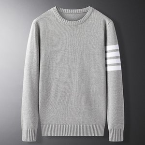 Woodvoice Brand Sweater Men Autumn Male Pullover O-Neck Solid Color Slim Fit Knittwear Mens Slim Sweaters Streetwear Tops M-3XL