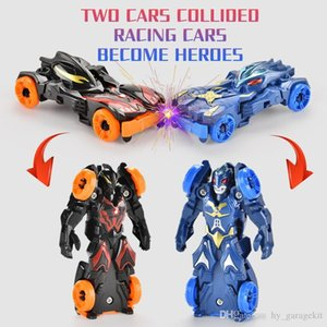 Children collision toy car transformation robot switch freely cool animation high quality toy both boy and girl