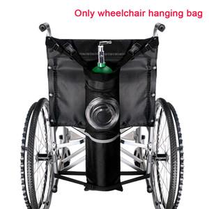 Nero riflettente banda bagagli Pouch Bag Ossigeno Cilindro sedia a rotelle portatile