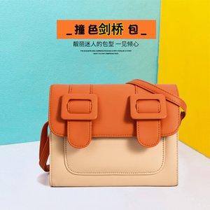 2020 New Thailand Cambridge Satchel Color Matching Mode All-Spiel Massenger Bag Ins Umhängetasche Damen Umhängetasche Fabrik Direktvertrieb