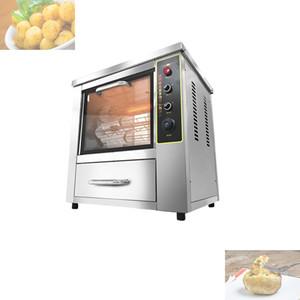 Tabletop Auto Rotate Huhn Rotisserie Grilled Ofen elektrischer Handel Süßkartoffel Corn Röstmaschine