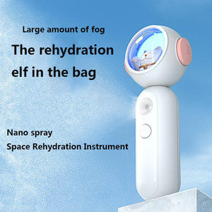 Care Face Water Replenishing Easy Absorb Facial Steamer Facial Nano Mist Spray Beauty Instrument