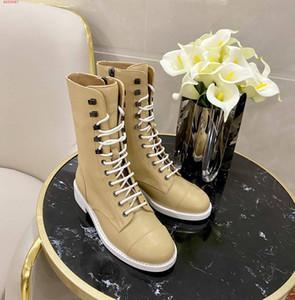 Perçin kış siyah son tasarım ile alt çizme bayanlar hatı ile kalın Moda lüks bağcıklı fermuar deri bayan