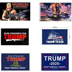 15 stile Decor Banner Trump bandiera appesa Trump Keep America Grandi striscioni 3x5ft Digital Print Supplies Donald Trump USA Flag partito DWE956