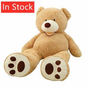 Costco Amerikan Dev Dev Teddy Bear Yaşam Boyut Bez Bebek Big Huge Peluş oyuncak hayvan Yumuşak Oyuncaklar Çocuk Aşk Sevgililer Günü