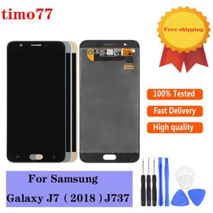 Samsung Galaxy J7 2018 J737 lcd'ler ekran sayısallaştırıcı değiştirilmesi için Orjinal Yepyeni bir yüksek kaliteli ücretsiz gönderim birer test