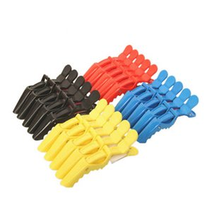 Hairdressing Salon Sectioning Clamp Crocodile Hair Clips Hairpin Grip 4 Multi-Colors Styling Tools Wholesale drop shipping