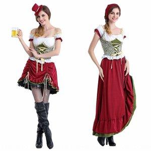 Alemão roupas Munique Preto Beer Stage clothesfestival traje cerveja menina de barras Figurino Halloween ding dong