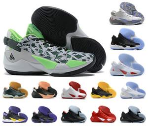 2020 New Yánnis Antetokoúnmpo grec Freak 2 GA II 2S GA2 ZOOM Chaussures de basket de sport bon marché de basket-ball Chaussures de sport Chaussures Taille 40-46
