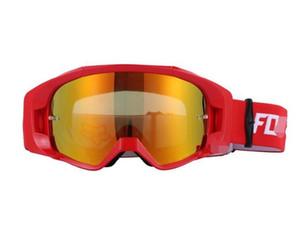 2020 nouvelle moto pare-brise de moto hors route hors route pare-brise de VTT de descente du pare-brise du casque 2019 hors route goggles FOX aller