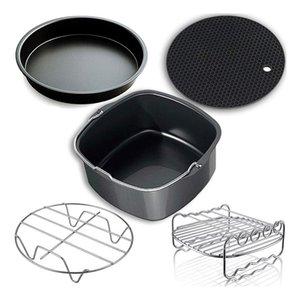 Air Fryer, Accessoires Air Fryer et accessoires Fit pour tous 3.7QT-5.3QT-5.8QT, Ensemble de 5-7 pouces