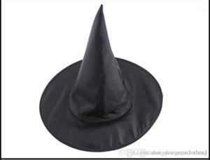 سحر قبعة هالوين للجنسين أكسفورد العليا كاب الساحرة تأثيري القبعات هاري بوتر الأسود