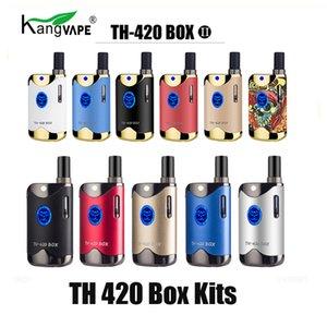 100% originale Kangvape TH420 II Starter Kit 650mAh VV TH420 2 Vape Battery Box Mod per Thick olio cartuccia del carro armato Authentic