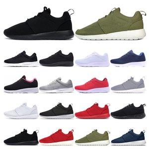 2020 hommes bon marché Tanjun Run Chaussures de course pour femmes blanc noir gris olive vert Respirant London Olympic Sport Entraîneur mode en plein air
