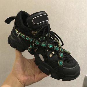 2019Top chaussures de marque chaussures FlashTrek occasionnels avec des femmes diamant amovibles hommes trainer Alpinisme Chaussures Hommes en plein air bottes de randonnée