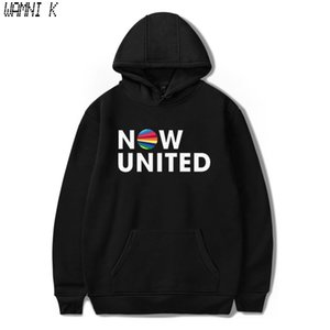 WAMNI 2020 Now United - Better Album Hoodie Sweatshirts Men Women Better Now United Lyrics Pullover Unisex Harajuku Tracksui MX200812