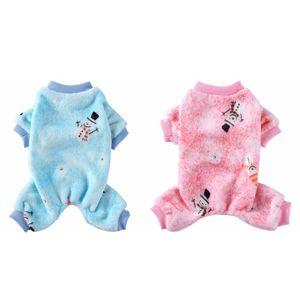 Haustier-Kleidung für Hundekatze-Welpen Weihnachten Mantel-Winter-Sweatshirt Warm Sweater Dog Outfits kleine Hunde Pet Vierbeinige Kleidung