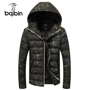 2020 Winter Jackets Men's Coats Thick Warm Men's Parkas 4XL Casual Cotton Padded Male Jackets Hooded